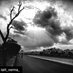 #Repost @lalit_verma_ with @repostapp To get featured tag your post with #talestreet I'm restless things are calling me away  My hair is being pulled by the stars again !  #bnw_captures_ #bnw_society #bnw #bnw_demand #bnw_life #bnw_life #bnw_captures #delhigram #insta #instagood #instagram #electro #solitude #clouds #tree#droughtseason #path#netgeotravel #travel #netgeo#vascocam #vasco #vascophile #skyporn #nature_perfection #naturelovers #indiatravel #india#talestreet