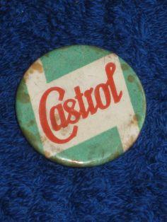 VINTAGE CASTROL PROMOTIONAL PIN BADGE.   eBay