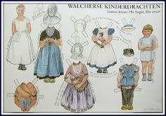 knipplaat Walcherse klederdracht