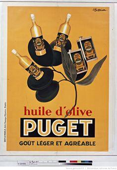Title:  Puget olive oil ... [poster] / [Leonetto Cappiello]  Author :  Cappiello, Leonetto (1875-1942). Illustrator Publisher:  [Sn]  Publisher:  [Devambez] ([Paris])  Publishing date :  1933  Subject :  Food  (1024×1490)