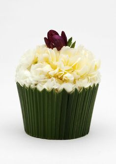 Floral Cupcake - Tea Party Greeting Cards