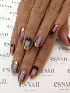 I& prefer them shorter but love the art! Es Nails, Dope Nails, Hair And Nails, Gel Nail Art, Nail Polish, Crazy Nails, Manicure E Pedicure, Garra, Stylish Nails