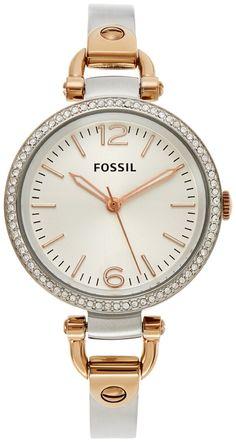 Fossil ES3447 Damen Uhr: Fossil: Amazon.de: Uhren