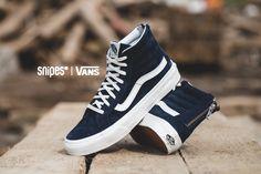 Der VANS Sk8-Hi Slim Zip bietet gleich gleich zwei Features, die ihm gut zu Gesicht stehen. Der Skate-Klassiker aus dem Hause VANS bekommt in dieser Version einen etwas schmaleren Schnitt verpasst, ebenso wie einen Reißverschluss an der Ferse. Artikelnr.: 1101240 Sizerun: 36-41 Preis: 94,99 Euro #snipes #snipesknows #vans #sneaker #sk8hi