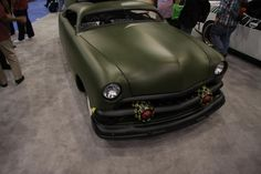 A custom car at SEMA 2012