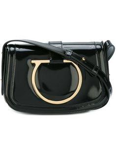 Shop Salvatore Ferragamo 'Sabine' shoulder bag.