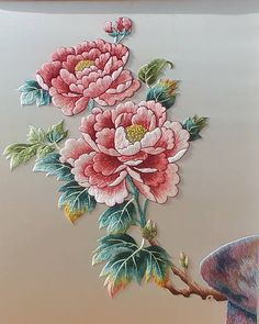 Wonderful Ribbon Embroidery Flowers by Hand Ideas. Enchanting Ribbon Embroidery Flowers by Hand Ideas. Embroidery Tattoo, Crewel Embroidery Kits, Embroidery Materials, Japanese Embroidery, Embroidery Needles, Hand Embroidery Patterns, Silk Ribbon Embroidery, Machine Embroidery Designs, Embroidery Supplies