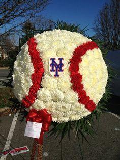 Funeral Arrangement Baseball