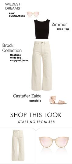 """""""#OUTFITdetails 1"""" by coolerthanyouooh ❤ liked on Polyvore featuring Brock Collection and Castañer"""