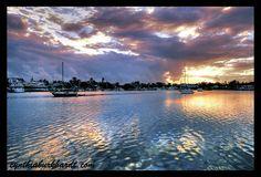 Manatee Pocket Sunrise I. Port Salerno area, Stuart, Florida