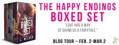 Abibliophobia Anonymous                 Book Reviews: **BLOG TOUR**  The Happy Endings Boxed Set by L. W...
