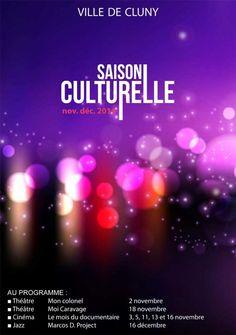 Saison culturelle municipale novembre-décembre 2014