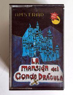 LA MANSIÓN DEL CONDE DRÁCULA  P.P.P. EDICIONES 1986 A.G.D. AMSTRAD CPC REF. Nº 3