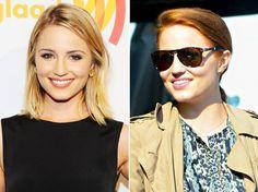 Dianna Agron, a Quinn de Glee, muda o visual! - News of Series