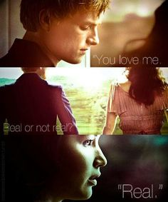 The hunger games do you luv me real or not real (real)