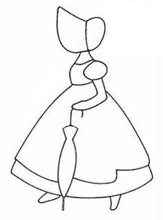 Riscos Bonecas, anjos, meninas- Patchwork embutido - Pintura em tecido   A Gaivota Artesanato