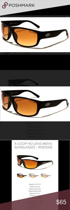 8ec68179004 Shop Men s HD XLOOP DRIVING SUNGLASSES Orange Black size OS Sunglasses at a  discounted price at Poshmark. Description  New HD Sunglasses X Loop  Polarized ...