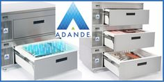 Every chef deserves a fridge they can rely on  In any commercial kitchen there is no substitute for having all the ingredients in peak condition and finished dishes looking and tasting great. Food stored in an Adande is easier to access, lasts longer, looks better, serves better and tastes better.