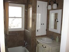 Nice small bathroom remodel