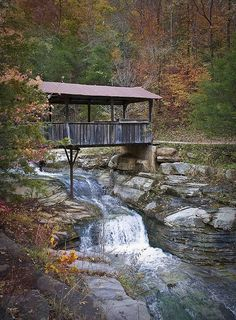 Covered Bridge in Arkansas by snolic...linda, via Flickr