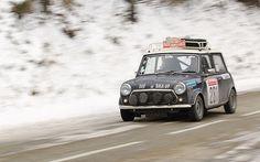 Monte-Carlo historic Rally 2012- Innocenti Mini Cooper 74