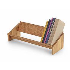 Schreibtisch-Bücherregal Eichenholz