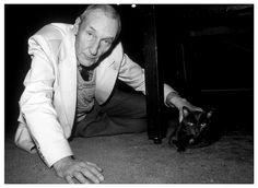 William S. Burroughs with Junkie