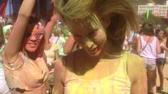 Holi One Colour Festival Cape Town 2013. This movie was shot on the iPhone 5 and edited with iMovie on the iPhone. Music: Icona Pop - I love...