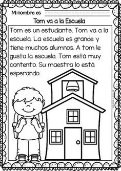 Easy Reading for Reading Comprehension in Spanish - Free Set Easy Reading for Reading Comprehension in Spanish - Free Set Spanish Lessons For Kids, Spanish Teaching Resources, Spanish Activities, Reading Activities, Guided Reading, Spanish Games, French Lessons, Teacher Resources, Elementary Spanish