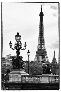 Eiffel Tower Black and White Photography, Posters and Prints at Art.com