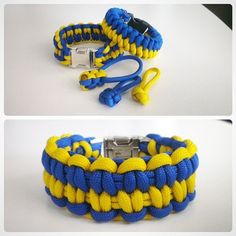 Mated Snake and Blaze Bar with a bonus as set of zipppullers in Ukraine flag colors #ukraine #UkraineStyle #paracord #paracord550 #550 #550paracord #handmade #bracelets #bracelet #zippullers #zipp-puller #GloryToUkraine