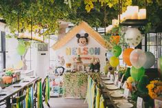 Disneyworld Birthday Party Ideas | Photo 2 of 41 | Catch My Party