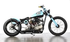 RE-PIN THIS! 'Durty Knuckle' a Harley-Davidson Knucklehead bobber by Bling... #harleydavidsonknucklehead