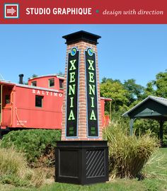 City of Xenia, OH – Studio Graphique // Placemaking   Wayfinding   Communities