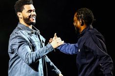 The Weeknd Brings out Kendrick Lamar During His LA Show