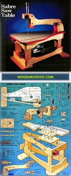 DIY Scroll Saw - Scroll Saw Tips, Jigs and Fixtures - Woodwork, Woodworking, Woodworking Plans, Woodworking Projects Woodworking Jigs, Carpentry, Woodworking Projects, Wood Tools, Diy Tools, Garage Atelier, Leather Workshop, Homemade Tools, Shop Layout