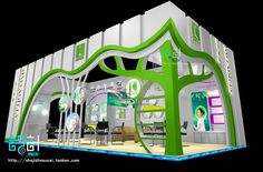 exhibition booth 46 3d model  1