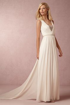 Channel a Grecian goddess in this destination-ready, oh-so-pretty design by BHLDN.