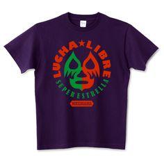 「LUCHA LIBRE」デザインの5.6オンスTシャツ (Printstar)です。3点以上で送料無料。関連タグ「ロック,プロレス,レスラー,アメカジ,メキシコ,ルチャリブレ,ルチャ,mexico,マスクマン,Lucha」デザイン説明:メキシコプロレス「ルチャリブレ」の世界観をモチーフに使ったシリーズです。 マスクマン達のやや怪しくもカッコいいアメリカン×メキシカンデザインをお楽しみください。   Tシャツトリニティは多種多様なデザイナーが出店するデザインTシャツ通販専門モールです。