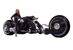 The Detonator: Electric Motorcycle