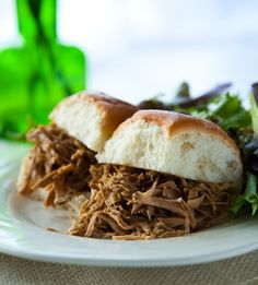 Cuban Slow Cooked pulled pork sandwich