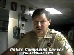 """I will make up a charge and arrest you.""  Los Angeles County Sheriffs"