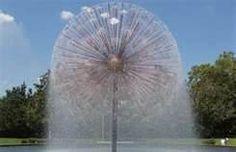 Dandilion fountain Wortham, Houston, TX