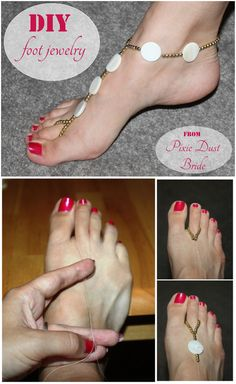 DIY Barefoot Sandal Ideas You Must See 3