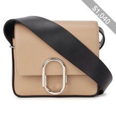 Womens Cross-body Bags 3.1 Phillip Lim Alix Beige Leather Mini Cross-body