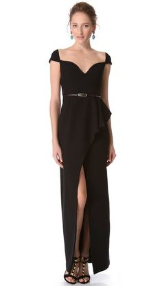Black Halo Eve Prestige Gown 650.00