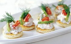 Toast Skagen - with shrimps and boiled eggs, mixed with mayonnaise Appetizer Salads, Appetizer Recipes, Snack Recipes, Appetizers, Tapas Recipes, Cheese Recipes, Savory Snacks, Healthy Snacks, Scandinavian Food
