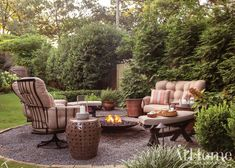With bursts of color and a thoughtful layout, Chris H. Olsen brings style and function to a cottage-sized outdoor area in Little Rock Outdoor Living Areas, Outdoor Rooms, Outdoor Furniture Sets, Outdoor Decor, Green Giant Arborvitae, Flagstone Pathway, Knockout Roses, Purple Garden, Black Eyed Susan