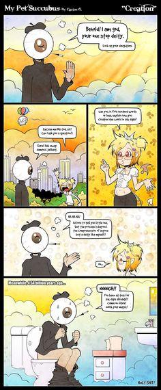 My Pet Succubus :: Creation | Tapastic Comics - image 1