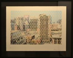 """Montreal Ovoids by John Bennett (Haida) Limited edition lithograph /28 - 32"""" x 25 1/2"""" Fazakas Gallery is a Vancouver Art Gallery with exciting works from Contemporary Artists from diverse backgrounds and cultures.  www.fazakasgallery.com"""